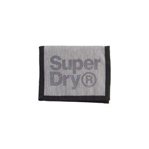 Superdry Pung Velcro Logo Grå