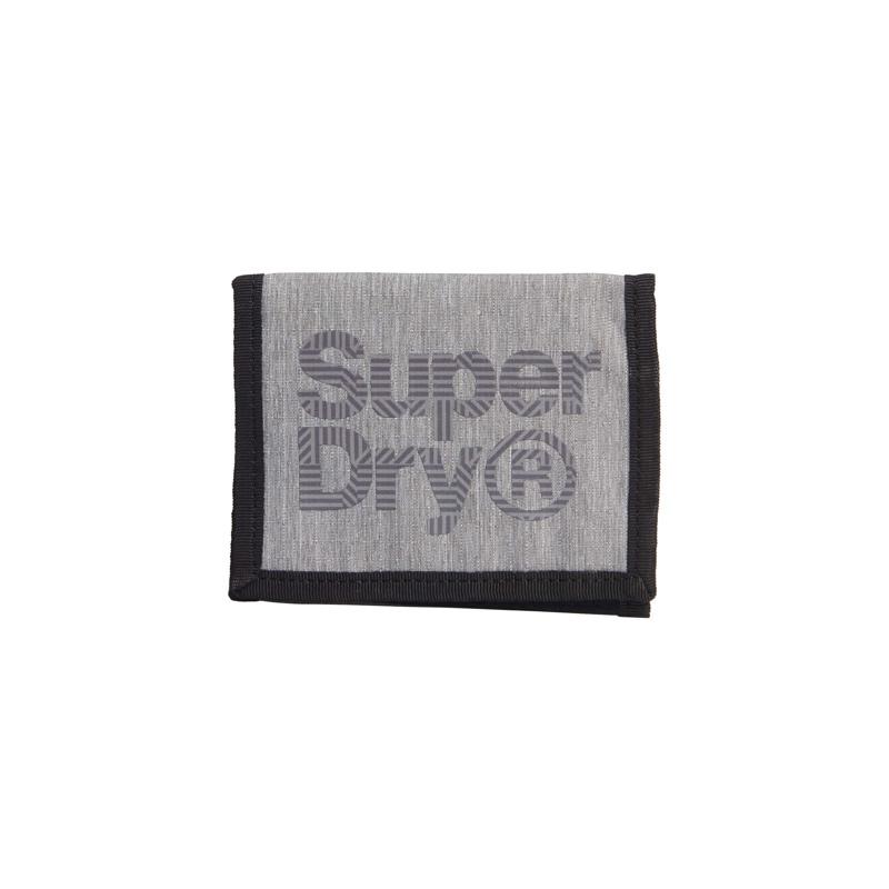 Superdry Pung Velcro Logo Grå 1
