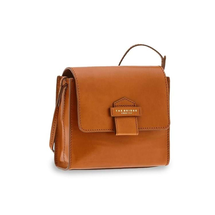 The Bridge Crossbody Cernaia Cognac 1