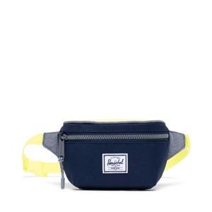 Herschel Bæltetaske Twelve Blå m/ gul 1