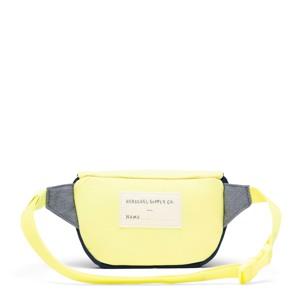 Herschel Bæltetaske Twelve Blå m/ gul 2