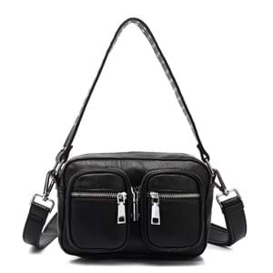 Noella Crossbody Kendra Leather Look Sort