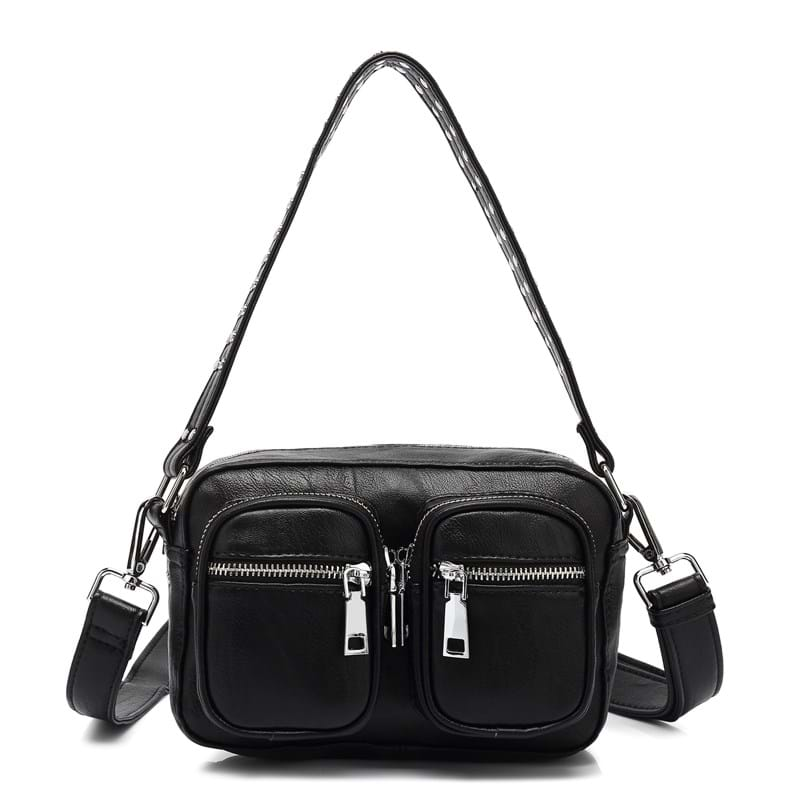Noella Crossbody Kendra Leather Look Sort 1
