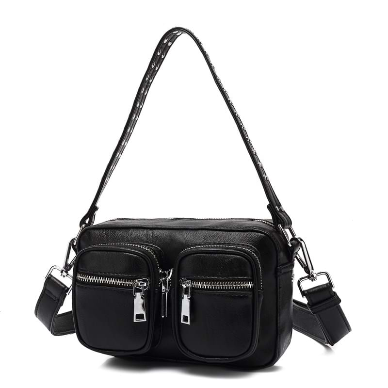 Noella Crossbody Kendra Leather Look Sort 4