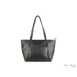 Pia Ries Shopper Sort/Turkis 1