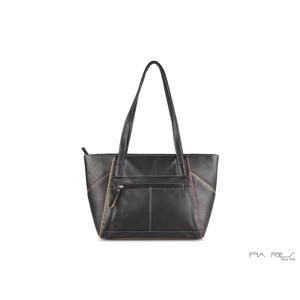 Pia Ries Shopper Sort/Turkis 3