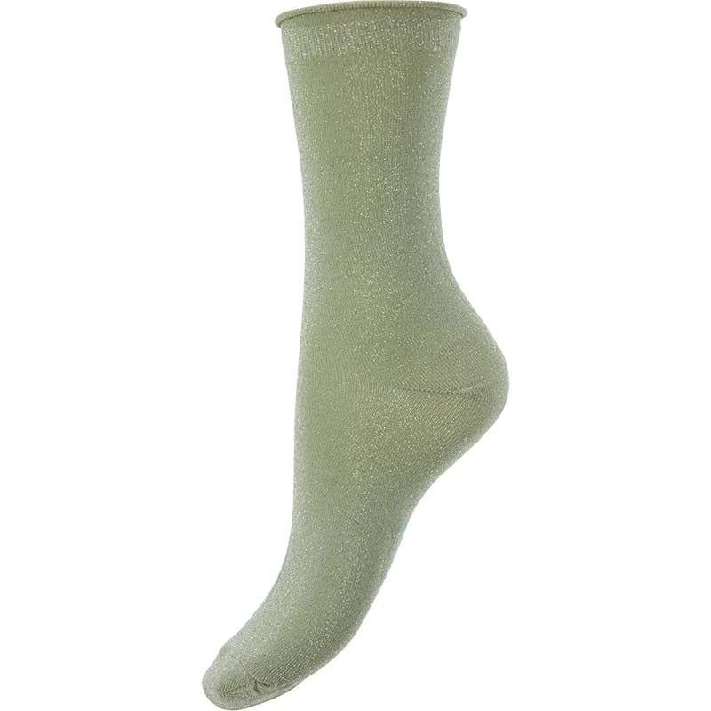 Bella Ballou Strømpe Solid Grøn 1