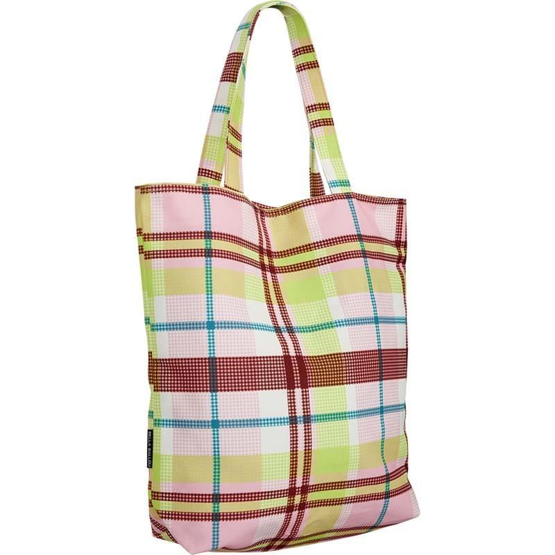 Bella Ballou Shopper Check Pink/Grøn 2