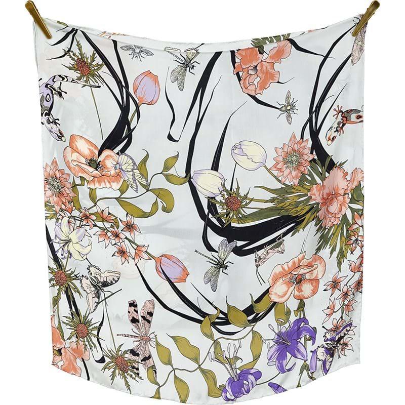 Bella Ballou Tørklæde Living Garden Blomst 1