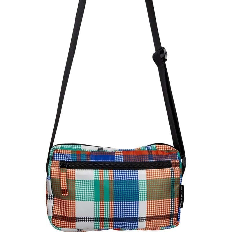 Bella Ballou Crossbody Check Orange Mønster 1