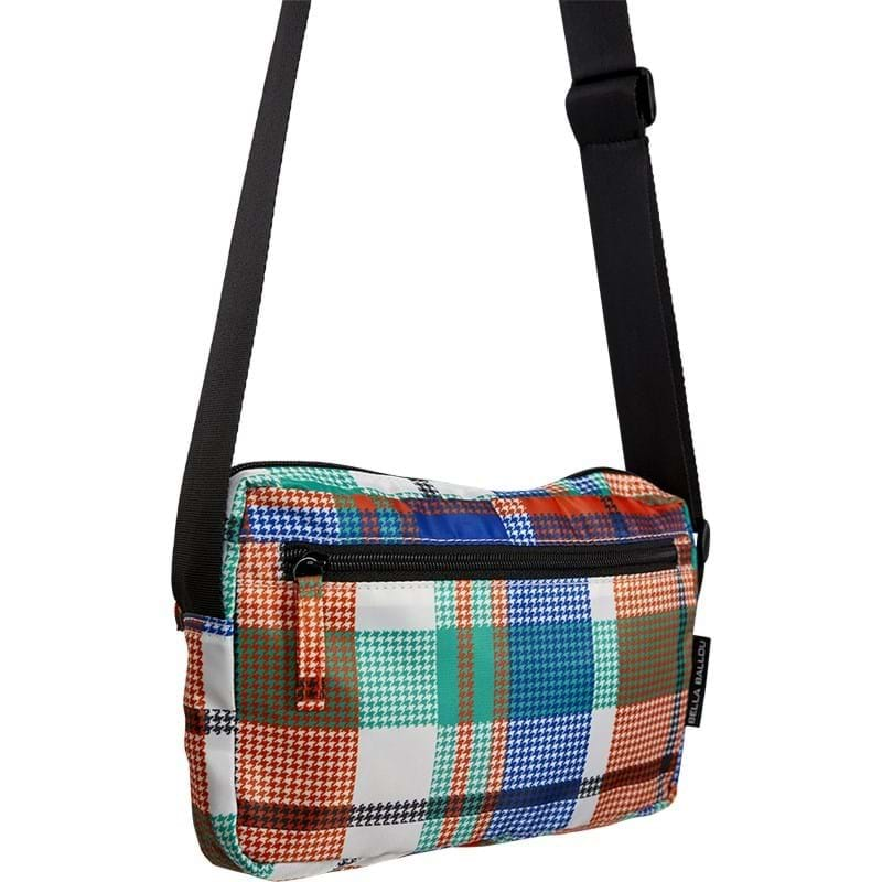 Bella Ballou Crossbody Check Orange Mønster 2