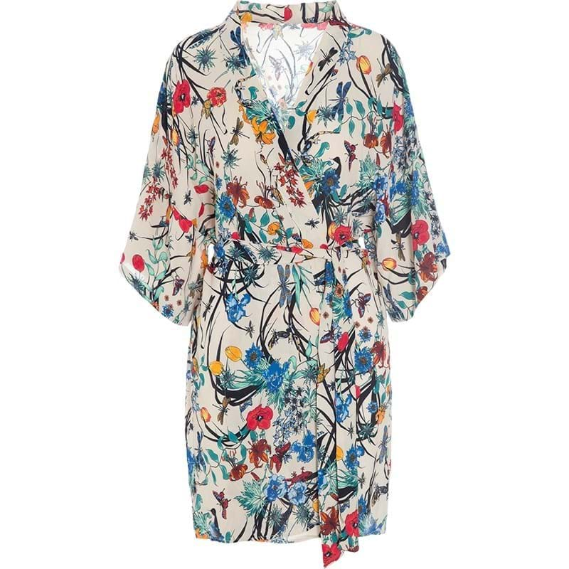 Bella Ballou Kimono Living Garden Blomster Print 1