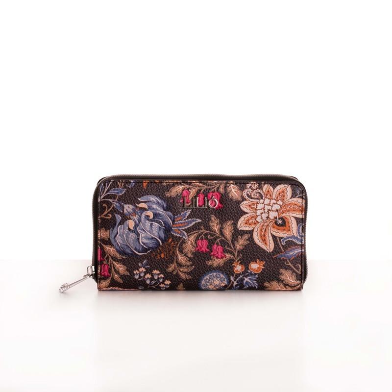 Lilió Pung Zip Wallet L M. Brun 1