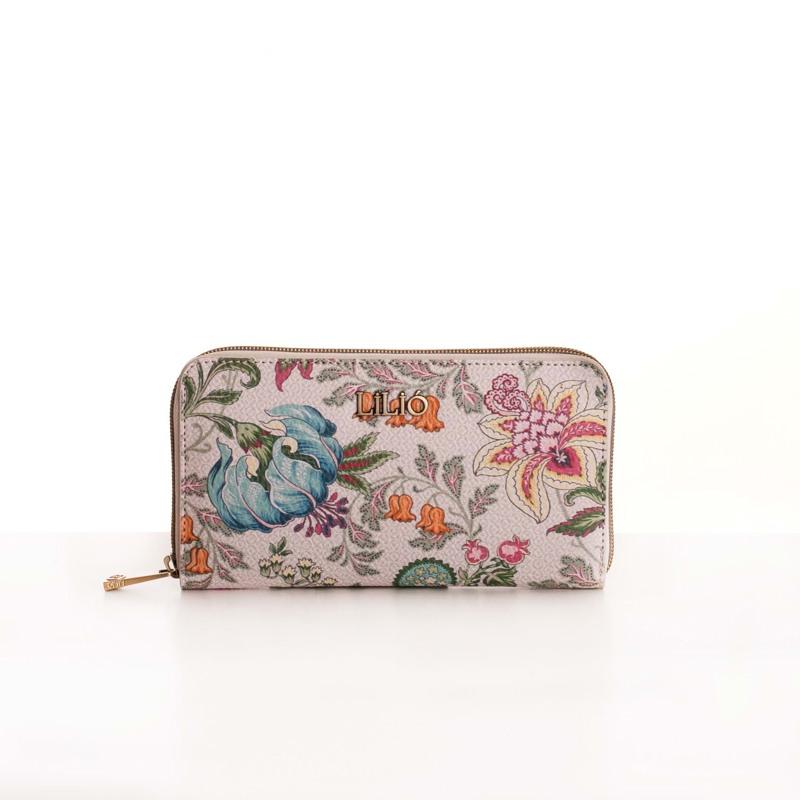 Lilió Pung Zip Wallet L Beige 1