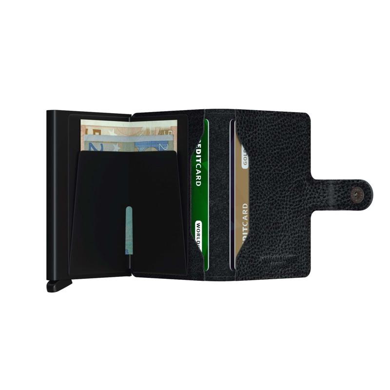Secrid Kortholder Mini wallet Sort m/mønster 2