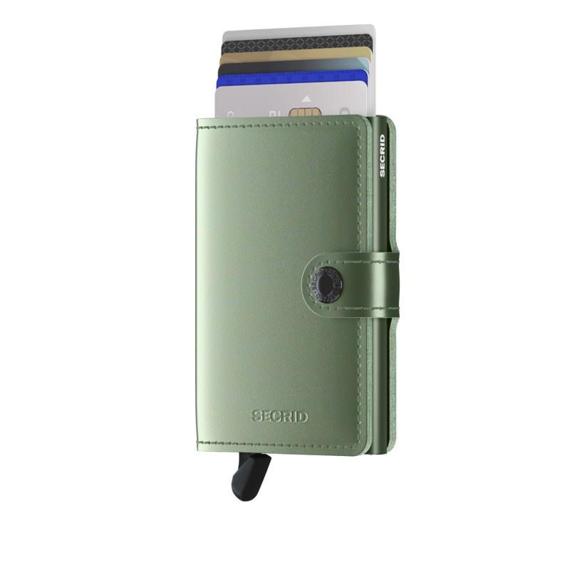 Secrid Kortholder Mini wallet L. Grøn 1