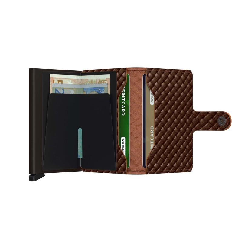 Secrid Kortholder Mini wallet Brun 2