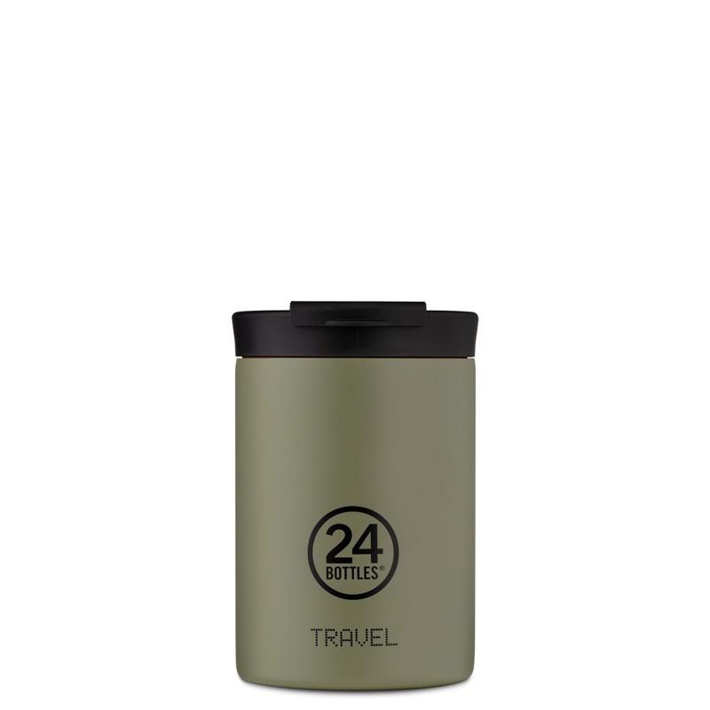24Bottles Termokrus Travel Tumbler Army Grøn 1