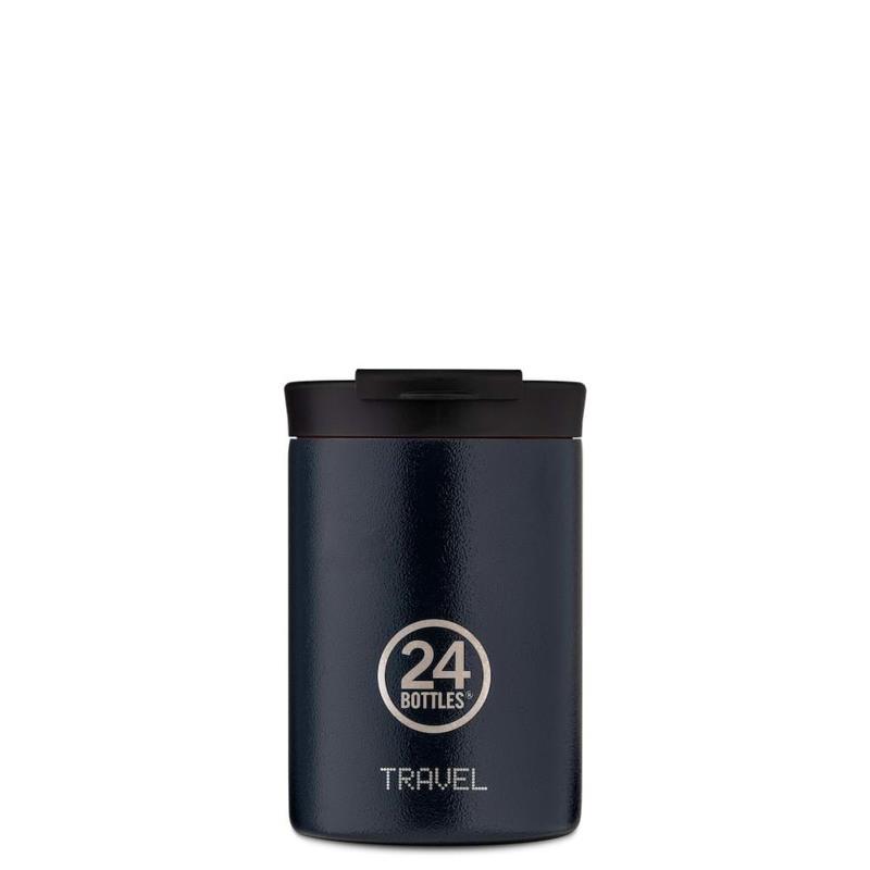 24Bottles Termokrus Travel Tumbler Mørk blå 1