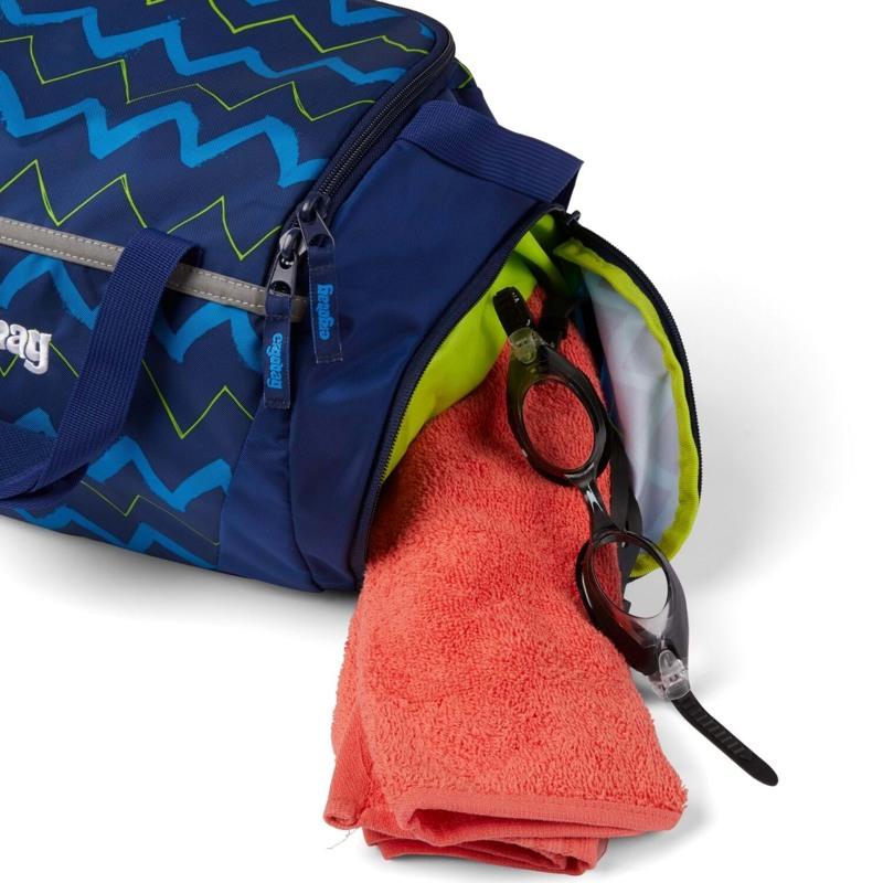 Ergobag Sportstaske Blå strib 3