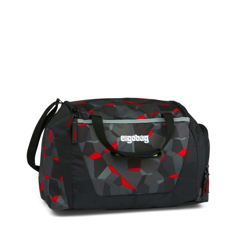 Ergobag Sportstaske Sort m/mønster 1
