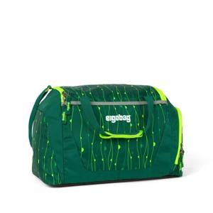 Ergobag Sportstaske  Grøn mønster