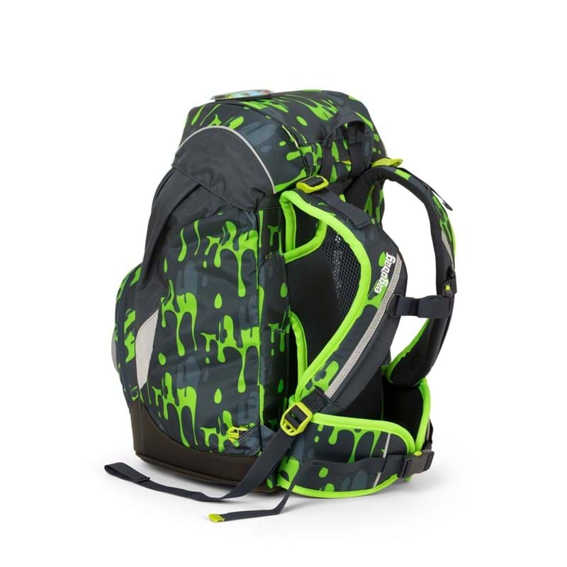 Ergobag Skoletaske Prime Grå/grøn 4