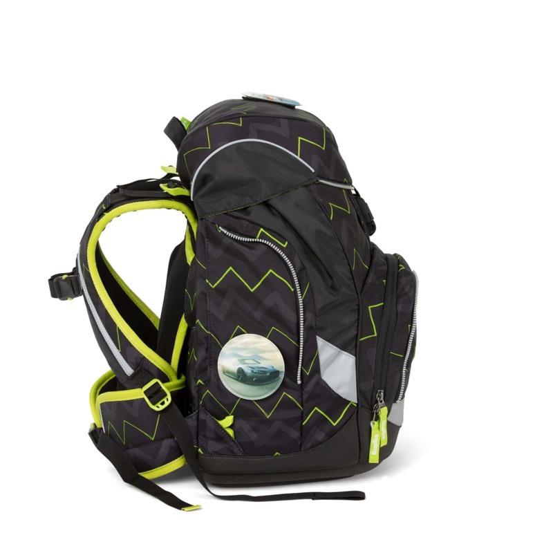 Ergobag Skoletaskesæt Pack Sort/Grøn 3