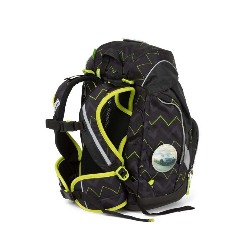 Ergobag Skoletaskesæt Pack Sort/Grøn 4