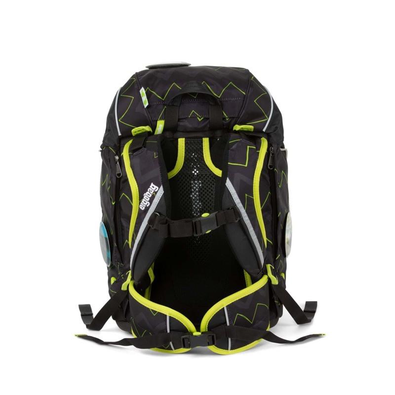 Ergobag Skoletaskesæt Pack Sort/Grøn 5