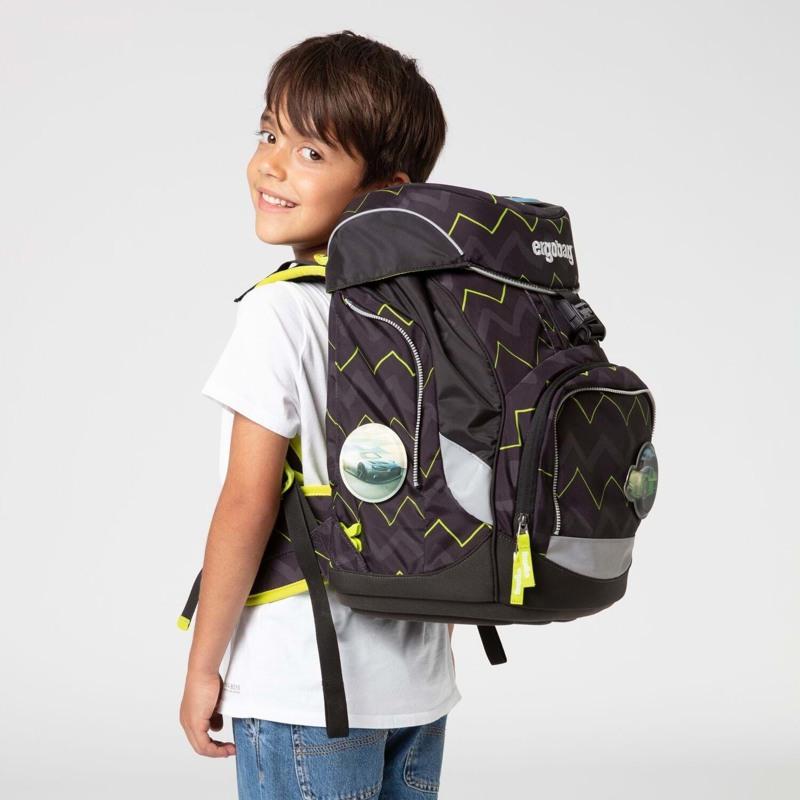 Ergobag Skoletaskesæt Pack Sort/Grøn 7