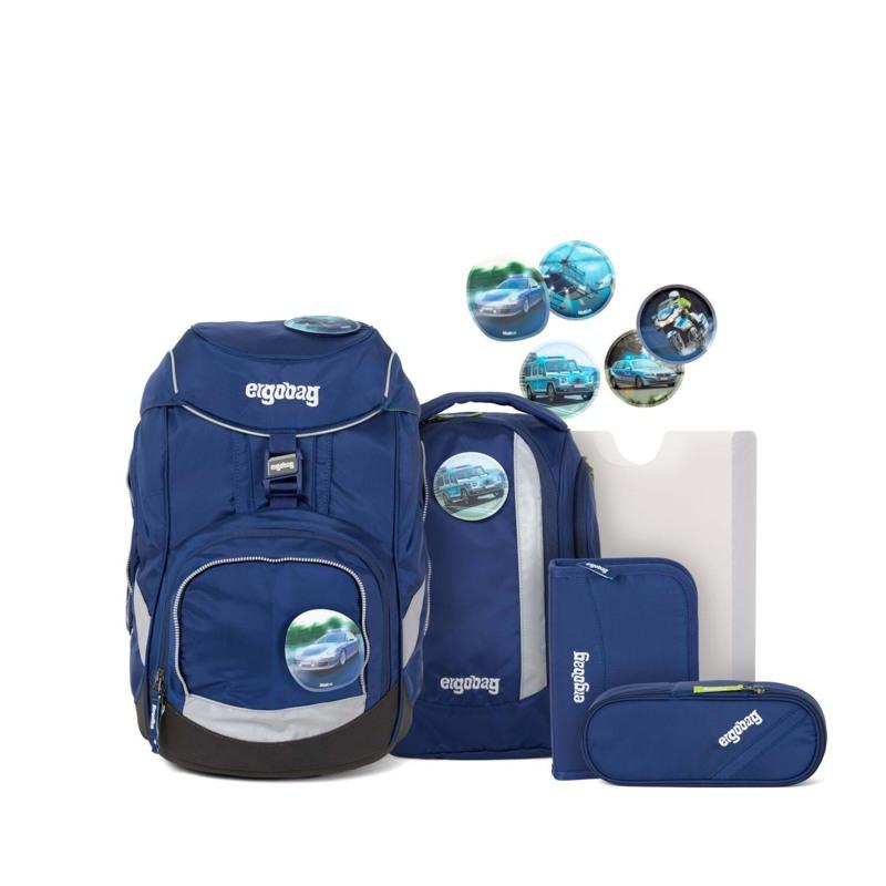 Ergobag Skoletaskesæt Pack Blå 1