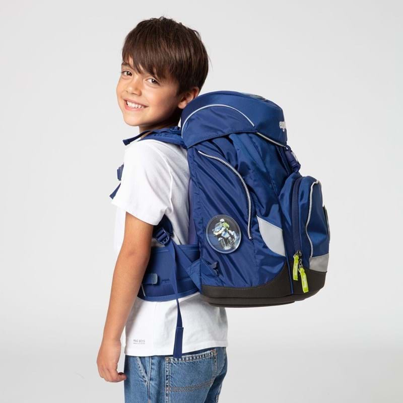 Ergobag Skoletaskesæt Pack Blå 7