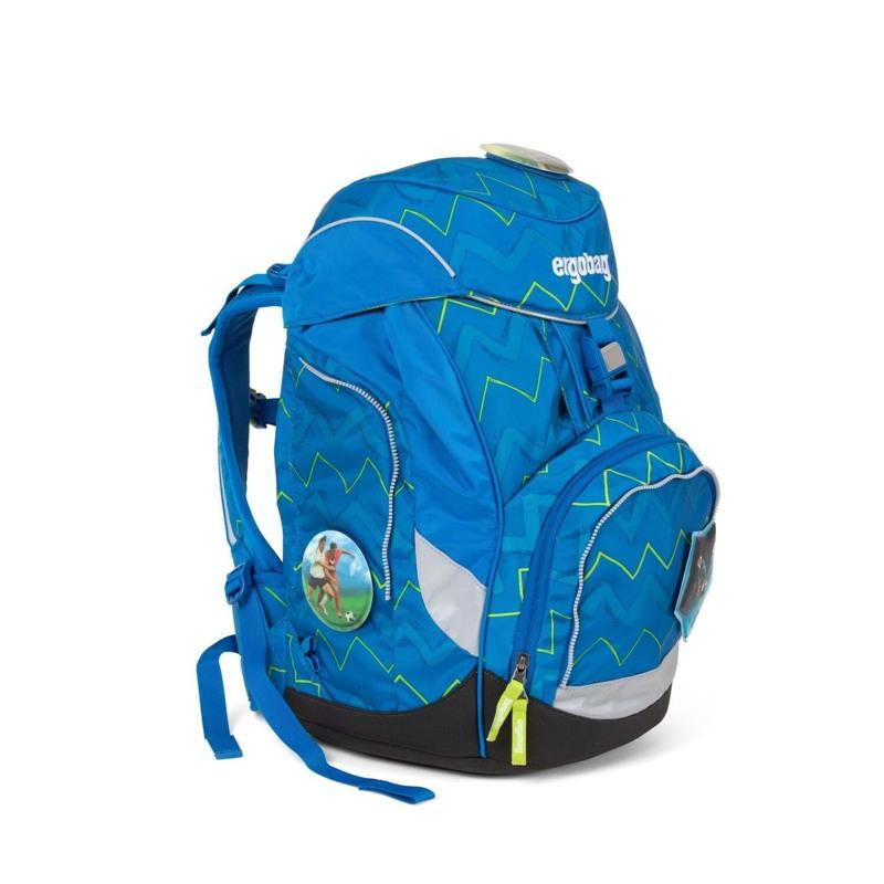 Ergobag Skoletaskesæt Pack Blå/Grøn 2