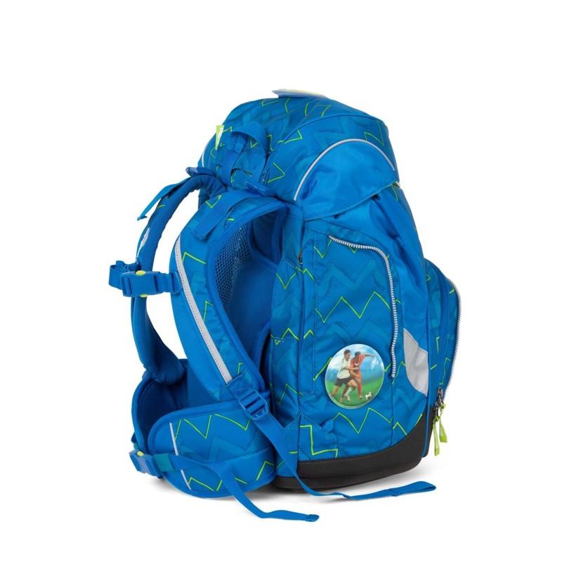 Ergobag Skoletaskesæt Pack Blå/Grøn 4