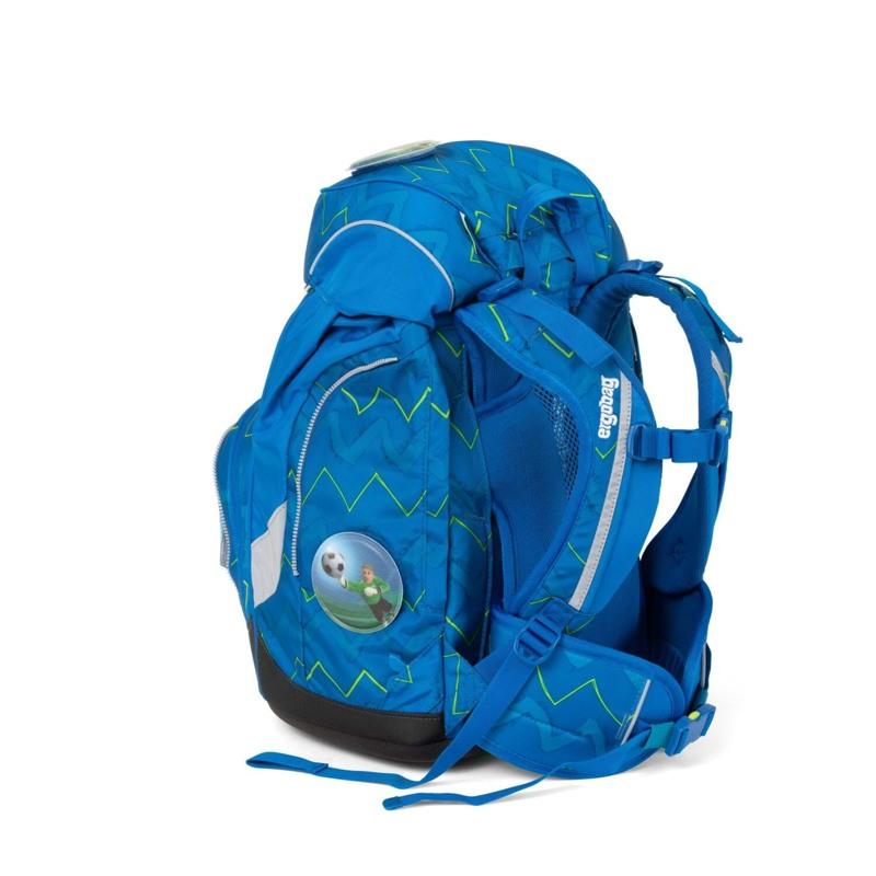 Ergobag Skoletaskesæt Pack Blå/Grøn 6