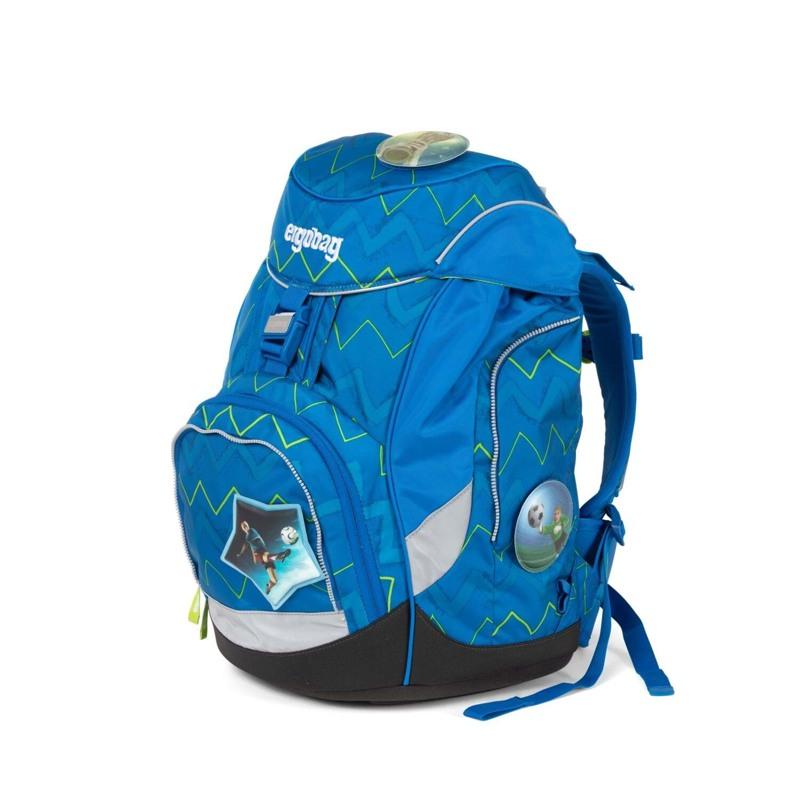 Ergobag Skoletaskesæt Pack Blå/Grøn 7