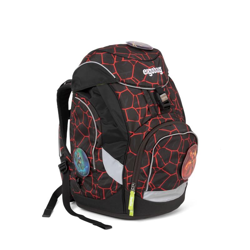 Ergobag Skoletaskesæt Pack Sort/Rød 2