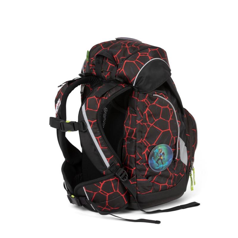 Ergobag Skoletaskesæt Pack Sort/Rød 3