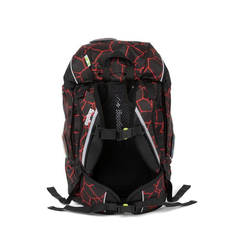 Ergobag Skoletaskesæt Pack Sort/Rød 6