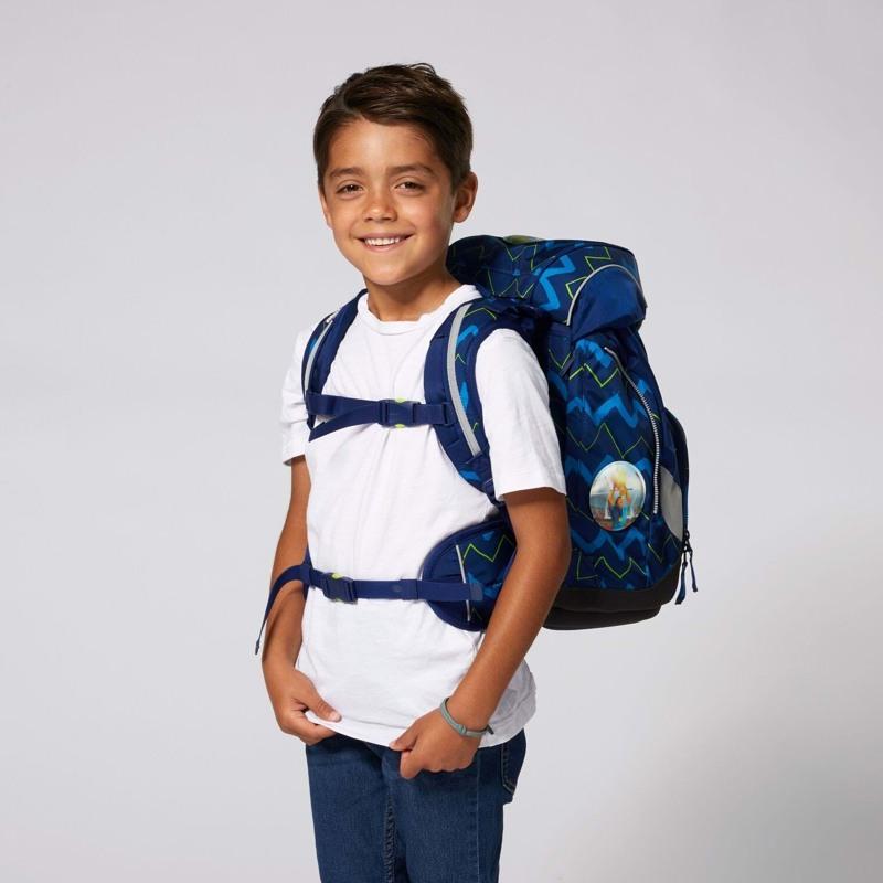 Ergobag Skoletaskesæt Pack Blå strib 6