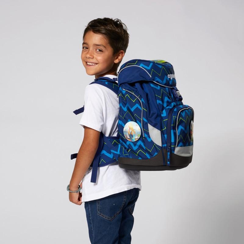 Ergobag Skoletaskesæt Pack Blå strib 7