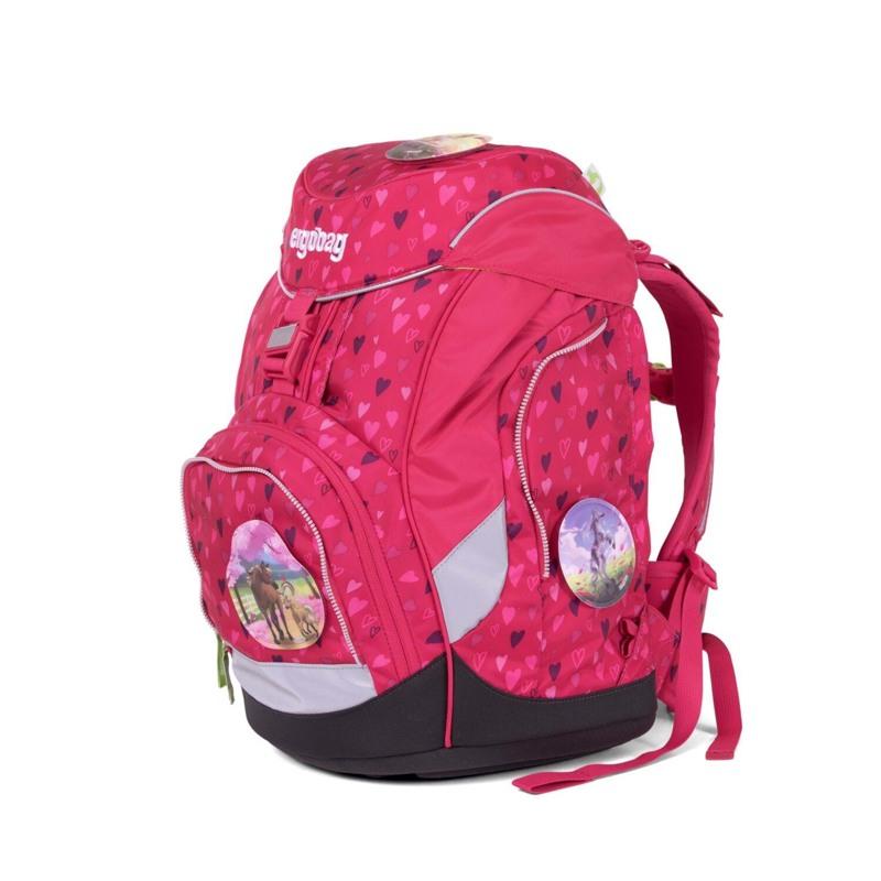 Ergobag Skoletaskesæt Pack Mørk Rosa 2