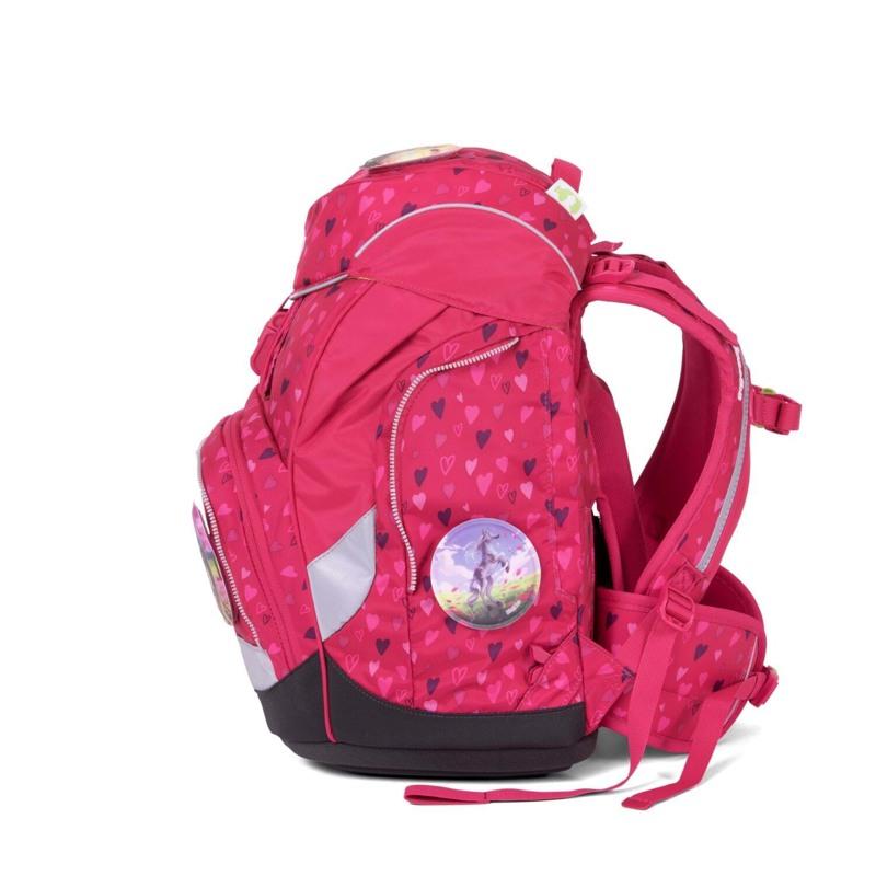 Ergobag Skoletaskesæt Pack Mørk Rosa 3