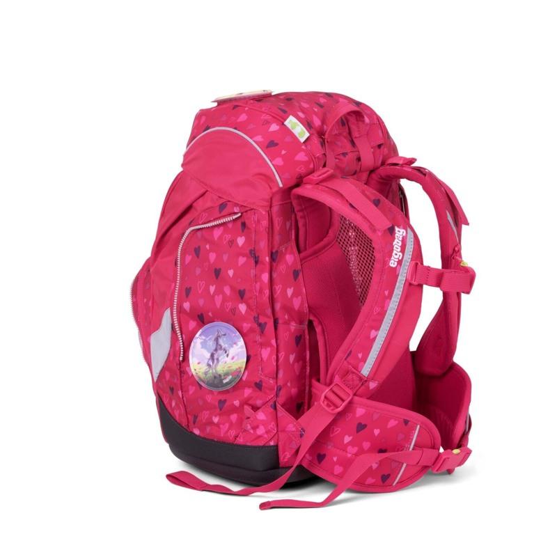 Ergobag Skoletaskesæt Pack Mørk Rosa 4