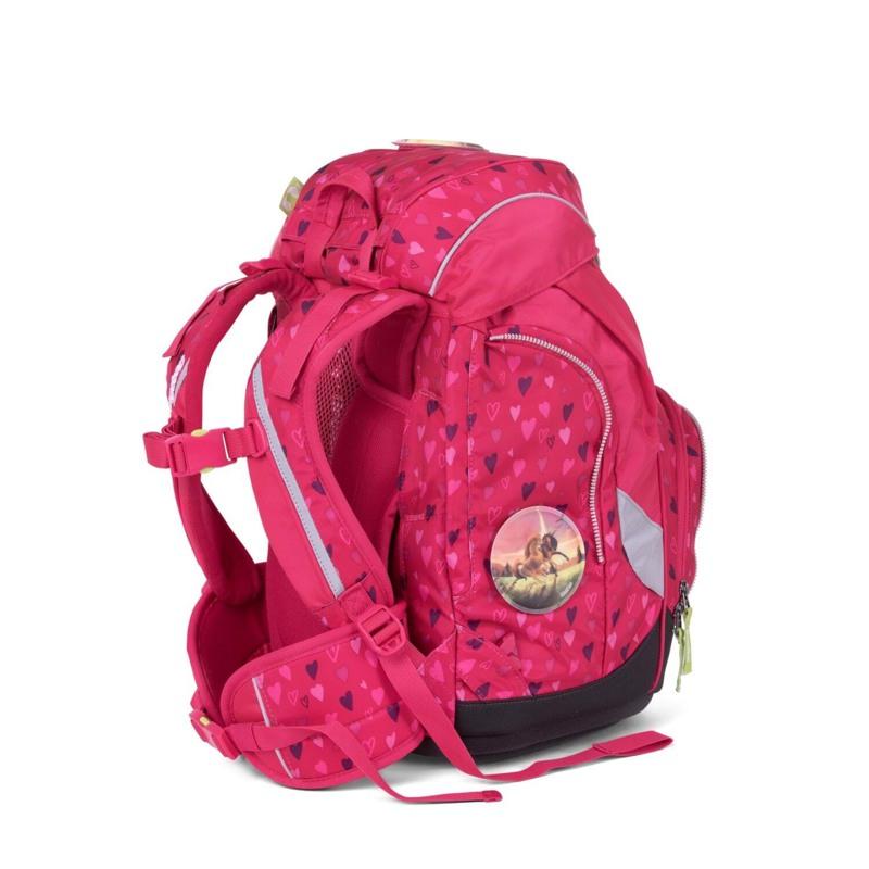 Ergobag Skoletaskesæt Pack Mørk Rosa 6