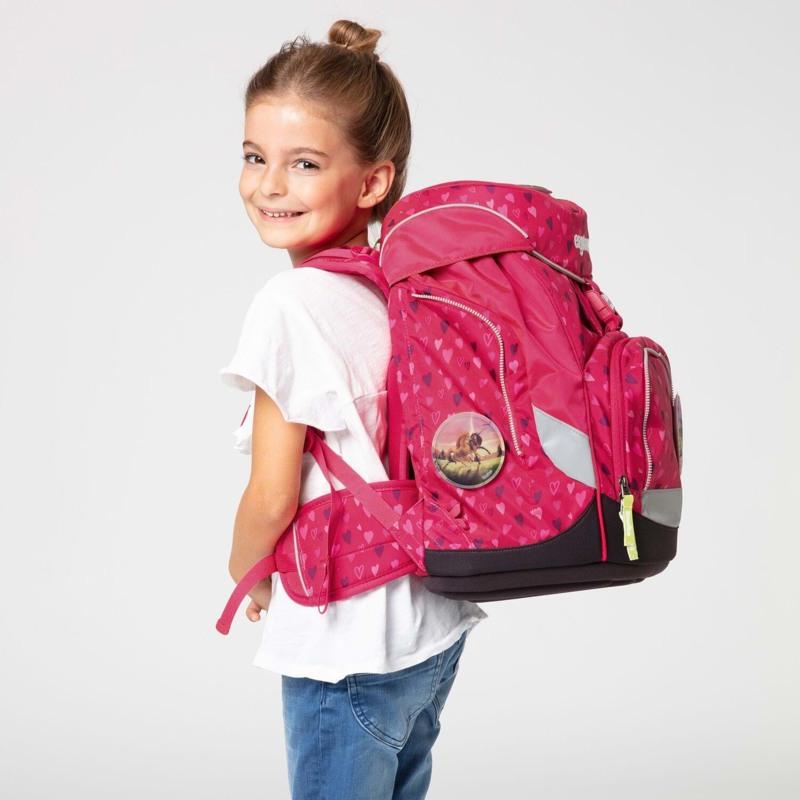 Ergobag Skoletaskesæt Pack Mørk Rosa 7