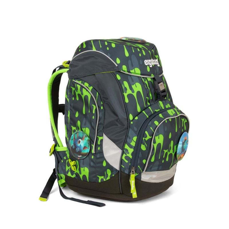 Ergobag Skoletaskesæt Pack Grå/grøn 2