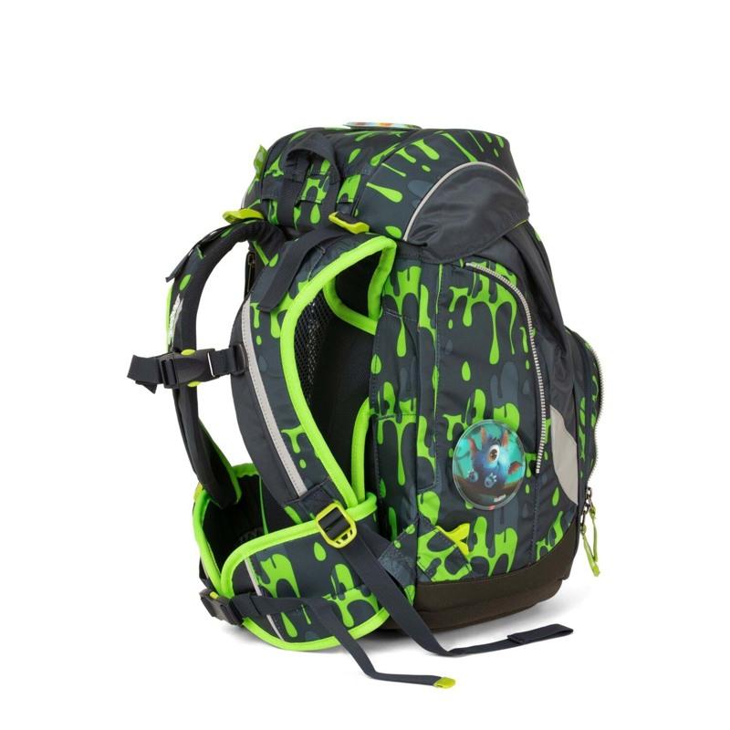 Ergobag Skoletaskesæt Pack Grå/grøn 4