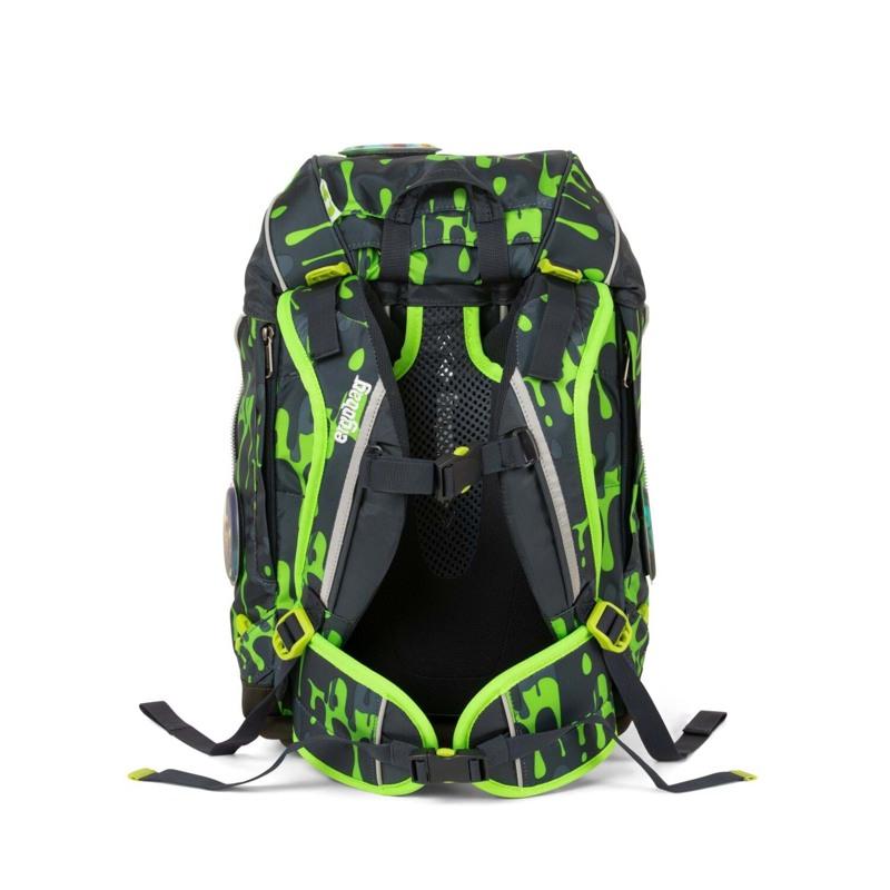 Ergobag Skoletaskesæt Pack Grå/grøn 5